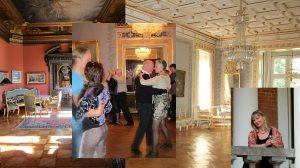 Dans og litteratur i fornemme omgivelser